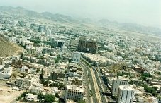 Aerial view of Makkah Click to view high resolution version